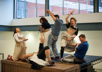 "Bristol Old Vic Theatre rehearsal of forthcoming production of ""The Life & Times of Fanny Hill"""